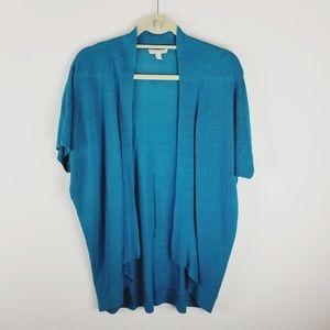 Eileen Fisher organic linen open face cardigan